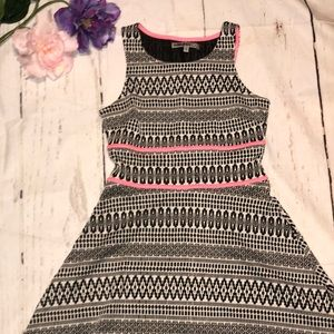 Baileyblue aztec print skater dress